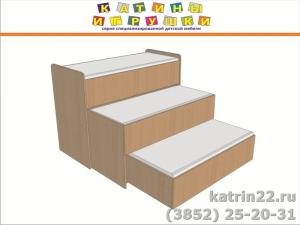Кровать выдвижная 3 ярусная