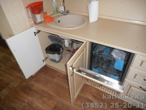 Кухня : г. Новоалтайск (выполнено на заказ)