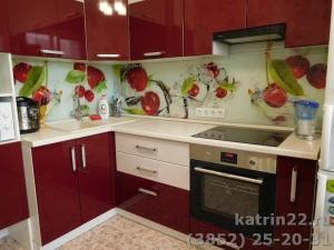 Кухня : ул. Шумакова, 63 (выполнено на заказ)