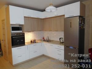 """Кухня: ЖК """"Времена года"""" ул. Взлетная, 115"""