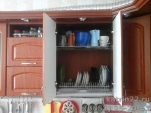 Кухня : ул. Лазурная, 29 (выполнено на заказ)