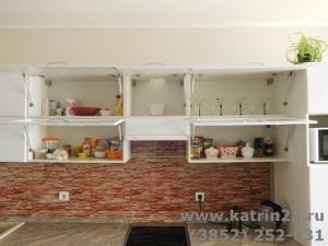 Кухня : ул. Ольховая (Власиха) (выполнено на заказ)