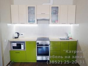 """Кухня : ЖК """"Полковник"""" ул. Юрина, 180 д"""