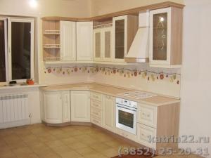 Кухня : ул. Барбарисная (Спутник) (выполнено на заказ)